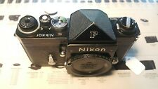 Nikon F Black Nikkor top plate for Germany market late SN.