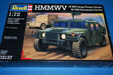 Revell 03137 - HMMWV M 998 Cargo Troop Carrier/M 1025 Armament Carrier  1/72