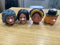 Worzel Gummidge SPARE Heads Anut Sally Bendy Toys Pertwee Scarecrow Scatterbrook