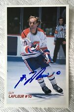 Guy Lafleur Molson Export Ale Hand Signed Card