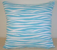 Sky Blue Waves Cushion Cover - 45cm x 45cm