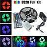5M 3528 SMD RGB 300 Led Flexible Strip Light Lamp/44 key IR/12V 2A Power Supply