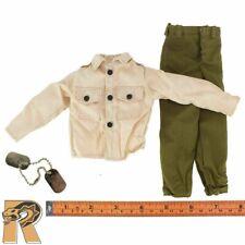 General Patton - Uniform Set & Dogtags - 1/6 Scale - GI JOE Action Figures