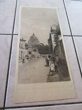 GRANDE GRAVURE 1900 PARIS PAR  Luigi LOIR (1845-1916)