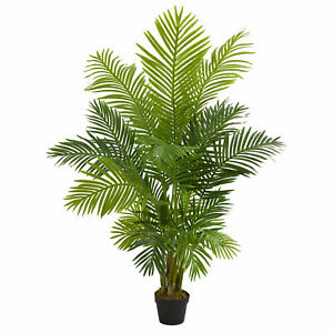 Artificial 5 ft Hawaii Palm Tree With Pot Nearly Natural 5589 BRAND NEW