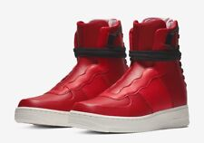 Nike Air Force 1 Rebel XX AO1525-600 Red Leather Size UK 4.5 EU 38 US 7 24cm New