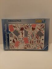 New Ravensburger F.X. Schmid 148004 Ho 52 Shuffle Puzzle 500 Pieces
