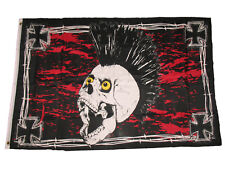 3x5 Iron Skull Premium Quality Fade Resistant Flag 3'x5' Banner Grommets