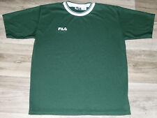 VTG 1990s Fila Logo Short Sleeve Soccer Jersey Crew T Shirt Made in Italy Sz. M