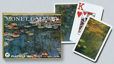 Monet Lilies (Jumbo Index) Double Deck Bridge Size Playing Cards by Piatnik