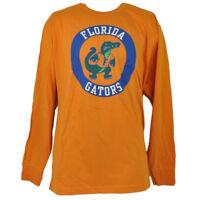 NCAA Florida Gators Long Sleeve Tshirt Tee Mens Adult Crew Neck Orange Sports