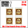 Ernie Ball Earthwood Silk and Steel 6 & 12 Acoustic Guitar Strings