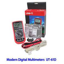 UNI-T Modern Digital Multimeter UT61D AC DC true RMS USB port resistance OZ