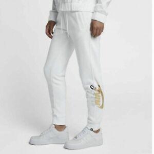 NWT Nike NSW Sportswear Metallic Logo Grey Rally Jogger Sweatpants Size 1X $65