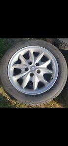 JAGUAR XJ8 XJR 17 Celtic ALLOY wheel tyre will be removed