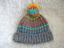 'Somewhere Over...' Child/ Ladies/Mens Hat - Easy Knitting Pattern