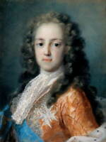 Rosalba Carriera Louis XV of France Poster Reproduction Giclee Canvas Print