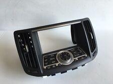 2008 INFINITI G35 SEDAN OEM CENTER DASHBOARD RADIO & NAVI CONTROL PANEL USED