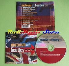 CD MOTOWN MEETS BEATLE compilation 2001 TEMPTATIONS SUPREMES DIANA ROSS (C24)