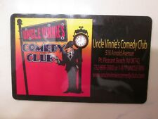$50.00 GIFT CARD UNCLE VINNIE'S COMEDY CLUB Certificate Entertainment Travel NJ