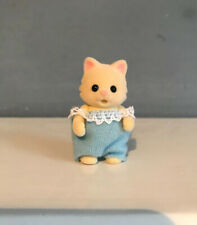 Sylvanian Families Chantilly Cream Cat Baby Boy Figure Calico Critters Movable