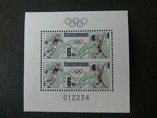 Czechoslovakia - Olympics, Michel Bl.76, complete MNH