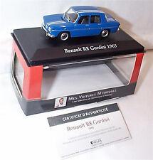 Renault R8 Gordini car 1:43 SCALE 1965 IXO ATLAS 2891019 VOITURES MYTHIQUES