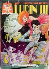 STAR COMICS MITICO N.24 MONKEY PUNCH PRESENTA LUPIN III 1996