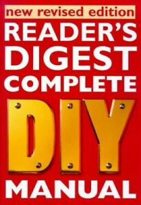Complete DIY Manual by Reader's Digest Hardback Book The Cheap Fast Free Post