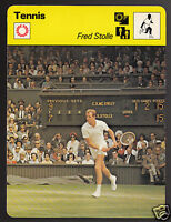 FRED STOLLE Australia Tennis Player Photo 1979 SPORTSCASTER CARD 58-06