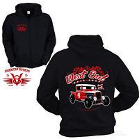 * Jacke Zip Vintage Ford Truck Hot Rod Old School Sweatshirt Hoodie *1028