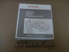 *Genuine Toyota CELLULAR PHONE Dealership / Shop Training Manual, Binder, Video