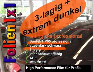 24,13€ 470 x 51 cm Top PKW+Kombi Tönungsfolie Suntek HP05 3lag. 95% tiefschwarz