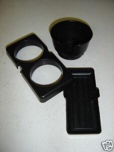 Miatamecca New Cup Holder Kit Fits 90-97 Mazda Miata MX5 00008DD01 OEM