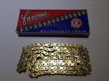 JAWA CZ FAVORIT GOLD CHAIN CZ 08 B-1 GOLD 1/2 x 5/16 - 130