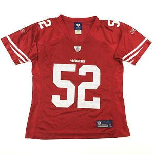 San Francisco 49ers Womens Jersey Patrick Willis 52 Reebok On Field Football M