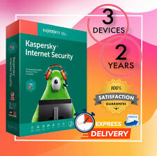 Kaspersky Internet Security Antivirus 3 PC 2 Year 2020 - Email License Code