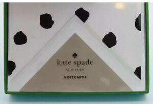 Kate Spade Spotty Dot notecards nib