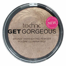 Technics Get Bronze Bronzing Highlighting Face Powder Compact 12-Gram
