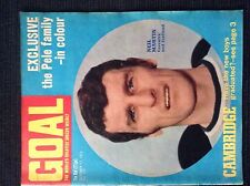 GOAL - WEEKLY SOCCER MAGAZINE 17/10/1970 - LEEDS UNITED TEAM GROUP