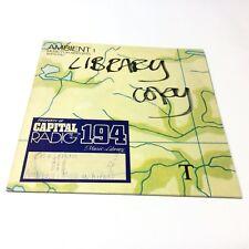 Rare Brian Eno Music For Airports Ambient 1 Promo Vinyl LP Read Desc A1/B1 EX
