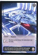 Star Wars Jedi Knights TCG Premiere #77 You Came In That Thing [L] SILVER