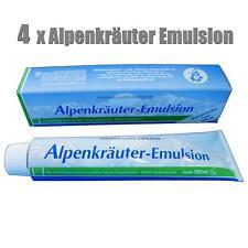 LLOYD Alpenkräuter kühlende Emulsion 4 x 200 ml für Sport Massage Muskeln