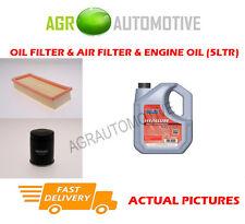 PETROL OIL AIR FILTER KIT + FS 5W40 OIL FOR FIAT PANDA 1.2 60 BHP 2004-12
