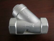 "DN65 2.5""BSP Female Type Y 201Stainless Steel Strainer Booster Pump Filter Valve"