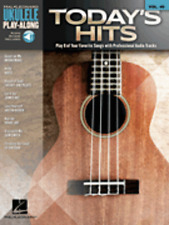 "UKULELE PLAY-ALONG VOLUME 40 ""TODAY'S HITS"" MUSIC BOOK/AUDIO ACCESS-NEW ON SALE!"