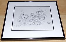 UNDERDOG RIFF RAFF ORIGINAL 1983 PENCIL DRAWING ARTWORK SIGNED JOE HARRIS