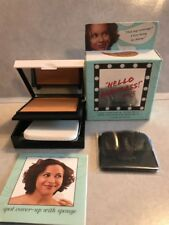 "benefit HELLO FLAWLESS Custom Powder Cover-Up~.25 oz~ ""Too Fierce"" NUTMEG"