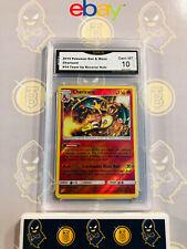 Charizard 14/181 Team-Up - 10 GEM MINT GMA Graded Rare Reverse Holo Pokemon Card