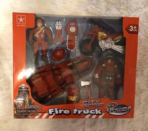 JLX Fire Truck City Action New Power Kids Toy Gift Boys G1